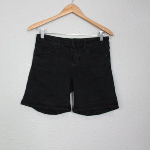 Pilcro and the Letterpress Stet Black Shorts sz 26